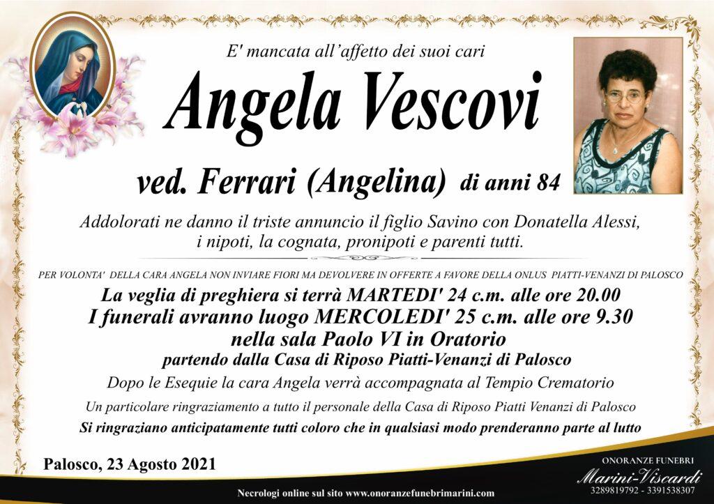 Angela Vescovi ved. Ferrari