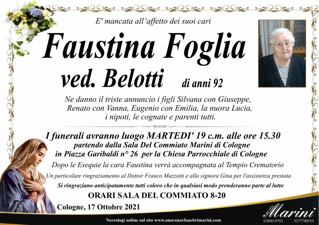 Faustina Foglia