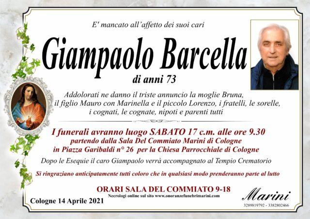 Giampaolo Barcella