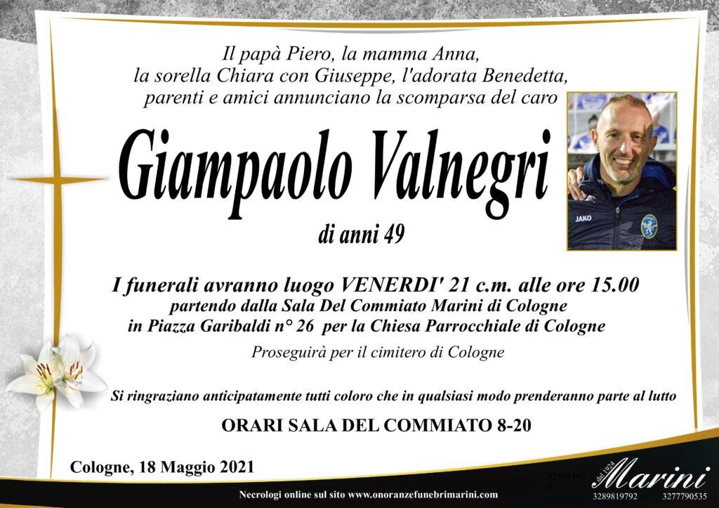 Giampaolo Valnegri