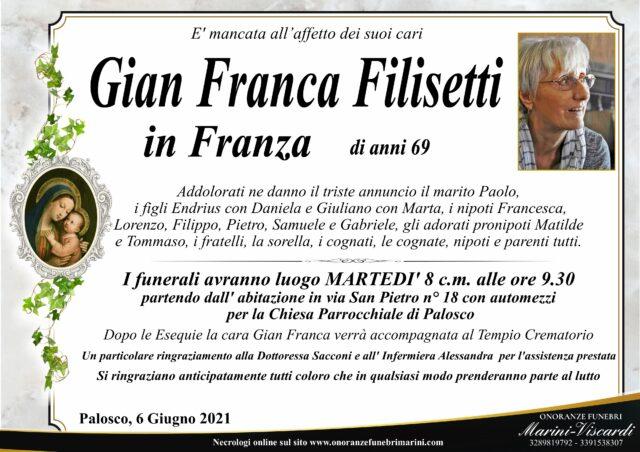 Gian Franca Filisetti