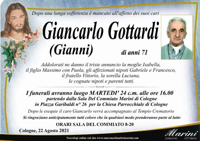 Giancarlo Gottardi