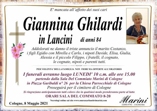 Giannina Ghilardi