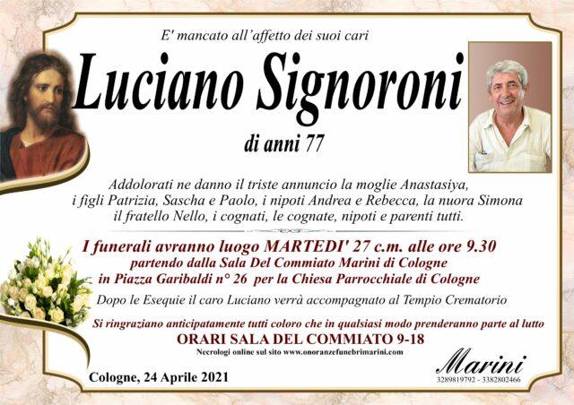 Luciano Signoroni