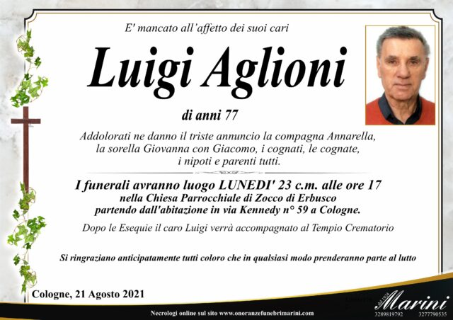 Luigi Aglioni