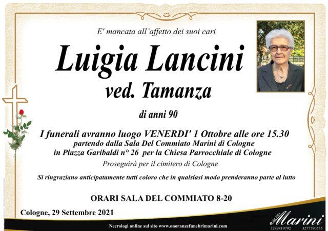 Luigia Lancini ved. Tamanza