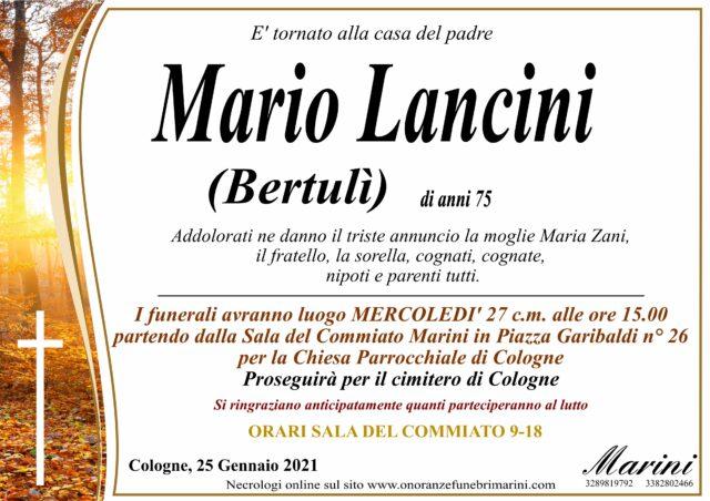 Mario Lancini