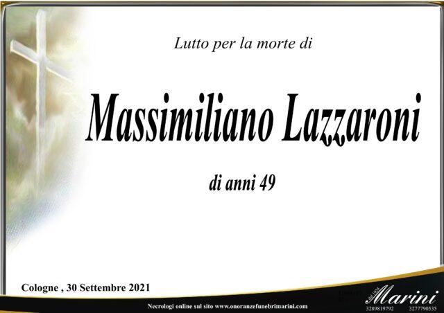 Massimiliano Lazzaroni
