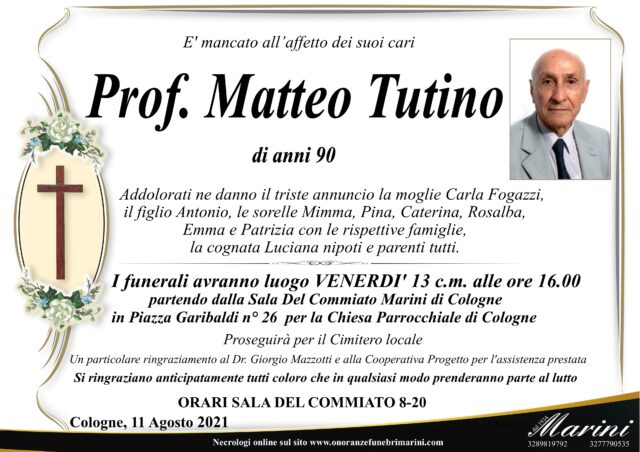 Matteo Tutino