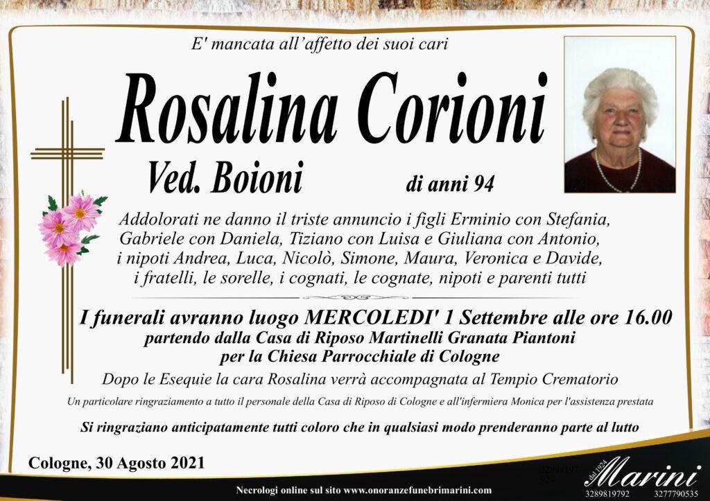 Rosalina Corioni