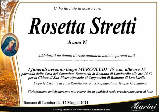 Rosetta Stretti