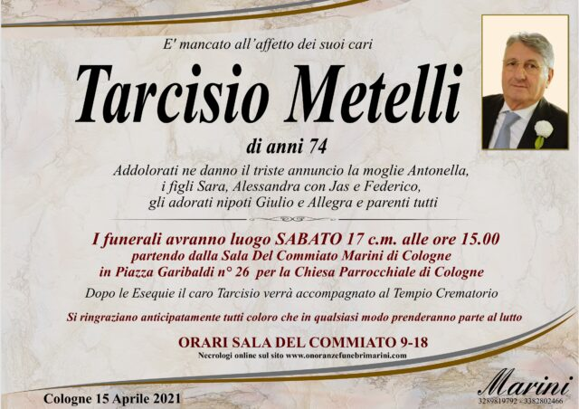 Tarcisio Metelli